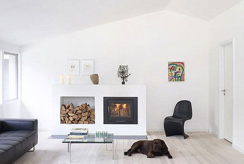White, Clean and Elegant Interior Design Pictures