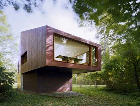 Library and Studio for a Writer by Andrew Berman
