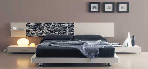Modern Bedroom Platform Bed
