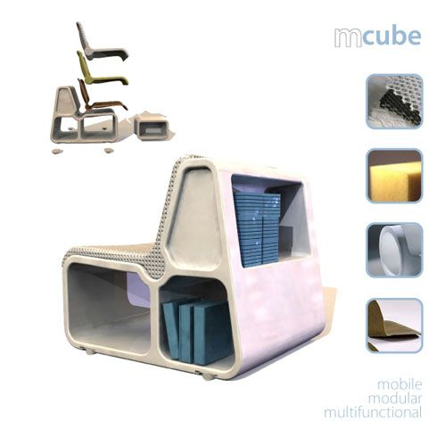 Modular and Multi-functional Seating Unit – M-cube