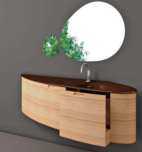 Modern Wall Mounted Bathroom Vanity Cabinets Freshomecom