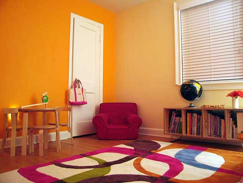 Children Room Interior Design on In Its Place In The Kids Room Different Ideas For Decorating Children