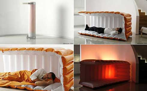Mobile Bed Designed Especially for Power Napping