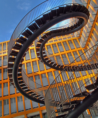 The Most Beautiful Stairs or a Dizzying Experience?