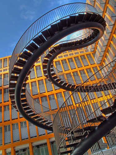 The Most Beautiful Stairs Or A Dizzying Experience