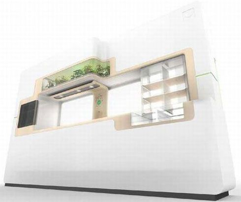 Green Eco Friendly Kitchen Concept from Whirlpool