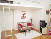 compact loft living 170x130 Small but Cute&Comfy Apartment from One of Our Readers