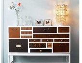decades drawer 170x130 Contemporary Bachelor Pad with a Defining Mixture of Styles
