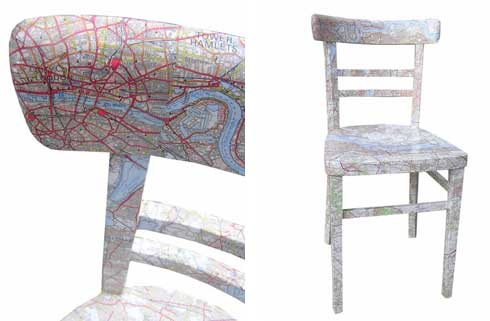 Do You Want a Chair with a Map ?