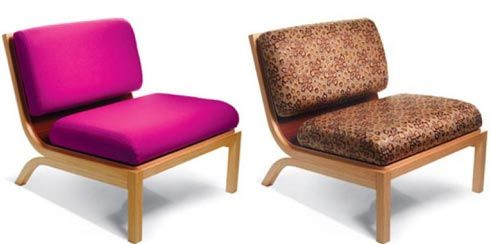 The Tio Lounge Chair with Additional Cushion Covers