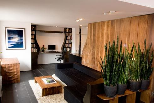 office design apartment New York Residences by Gage Clemenceau