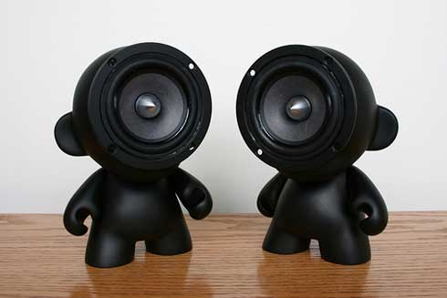 Do-it-Yourself : Some Cute Stereo Speakers
