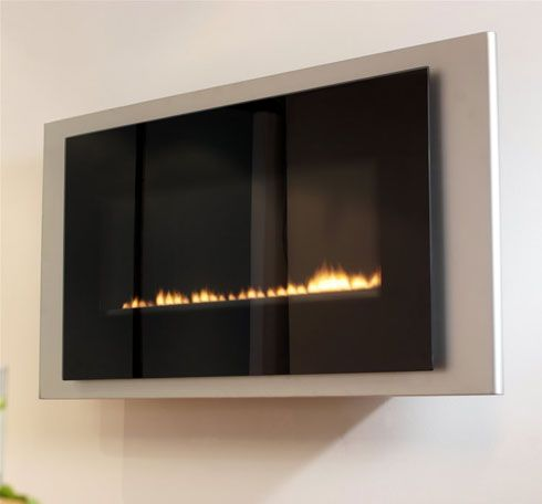 neonflueless fireplace