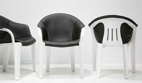 Transforming the White Plastic Chair
