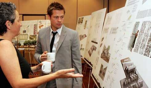 Brad Pitt to Design a Luxury Eco-friendly Hotel in Dubai