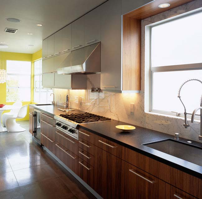 Kitchen  Interior Design  Photo-interior design of kitchen