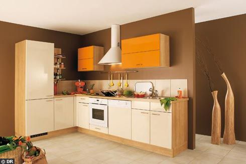 kitchen orange