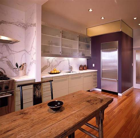 Home Office Decorating Ideas: modern kitchen interior design ideas