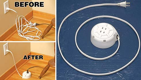Extension Cord Idea To Solve Messy Cables Problems