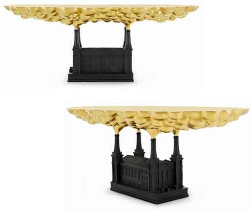 A Table Inspired by Pollution