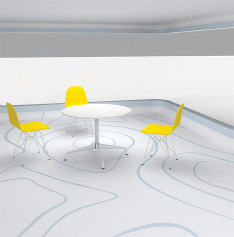 dimension2 Flowing Floor Designs by Alistair Bramley