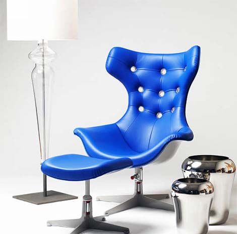 Beautiful Piece of Furniture – Evitavonni Blue Chair