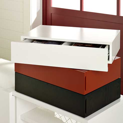 Floating Media Drawer from West Elm