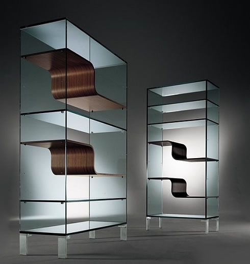 The Wave Bookcase from Urbinati