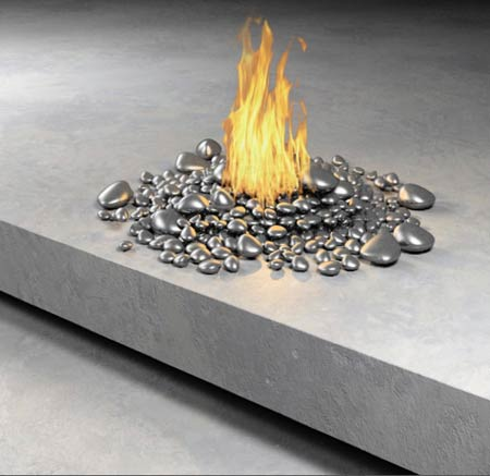 Really Creative Fireplaces Designs by Anne Colombo