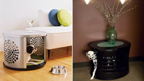cute dog house Furniture that Doubles as Comfy Hideaways for your  Pets