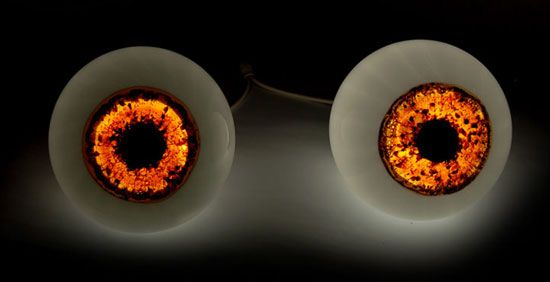 Cloned Eyeball Lamps To Watch Over You