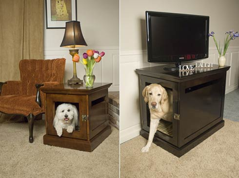 house for dog Furniture that Doubles as Comfy Hideaways for your  Pets