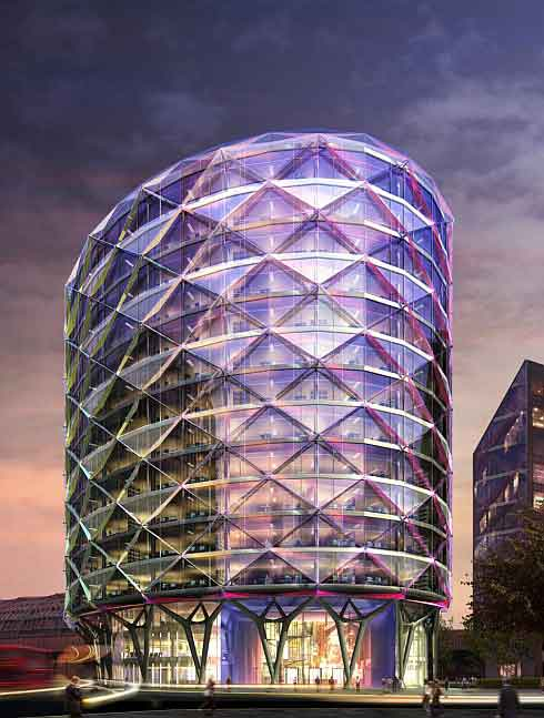 London's Sustainable Building by Sheppard Robson