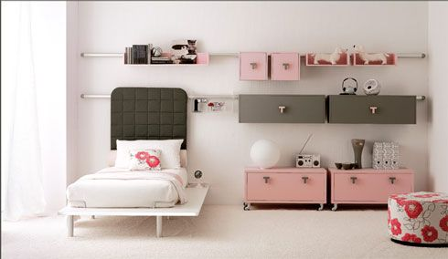 pink bedroom Colorful Bedroom Decorating Ideas and Pictures for  Kids
