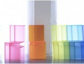 rainbow chair 1 170x130 Vivid and Colorful Stacking Chair Design: Juicy by Angelo Tomaiuolo