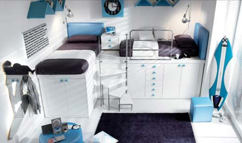 children bedrooms6 Bedroom Ideas for Kids : Tiramolla Loft  Bedrooms from Tumidei