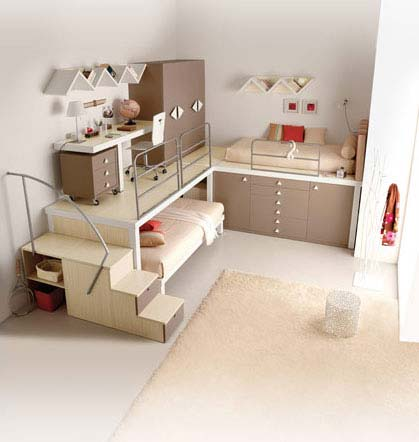 children bedrooms9 Bedroom Ideas for Kids : Tiramolla Loft  Bedrooms from Tumidei