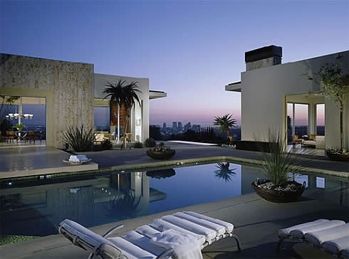 contemporary california hacienda 1 Contemporary California Hacienda by Brett Barrett