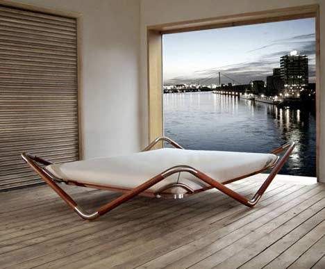 float bed Extravagant Bed Design : Float Bed by Max Longin