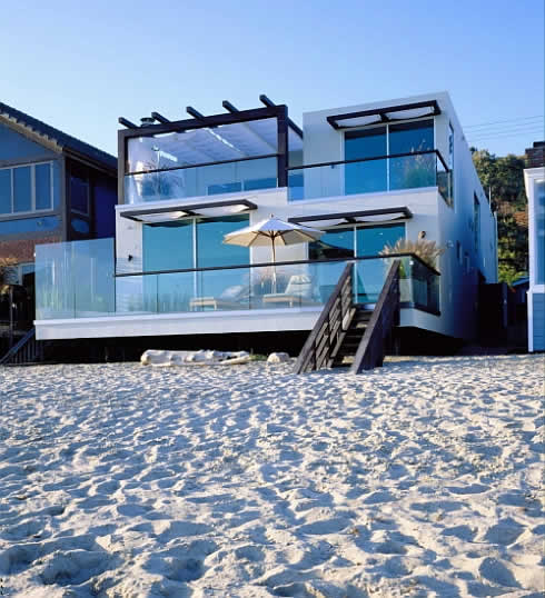 Beach House in Malibu, California