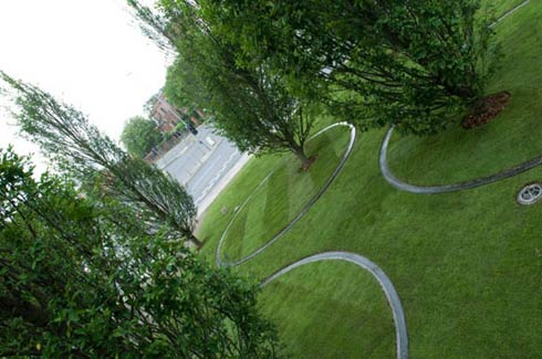 moving trees Arbores Laetae by Diller Scofidio and Renfro