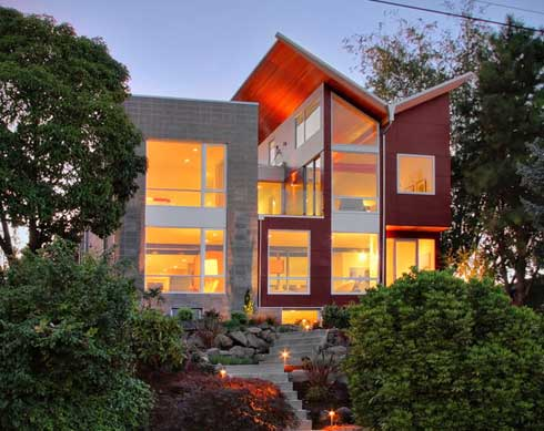 queen anne residence 1 Stunning Architectural Project : The Queen Anne House by Blip Design