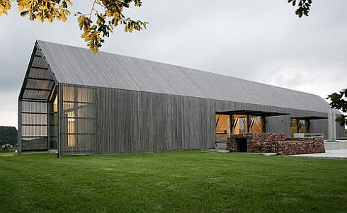 Old Barn Transformed into a Stylish New Home