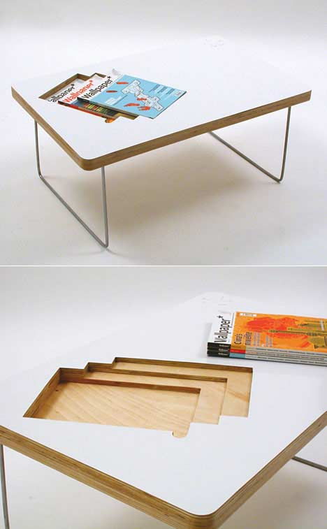Lifestyle Coffee Table by Sara Huston