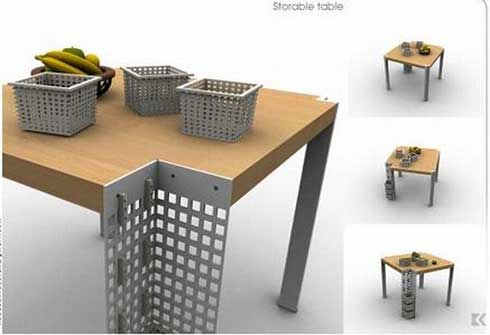 storable table Storable Table Concept