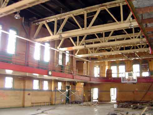 Converting a YMCA Gym into a Beautiful Apartment