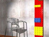 lego radiator 170x130 Sit Back and Get Warm: The Radiator Chair by Jeroen Wesselink