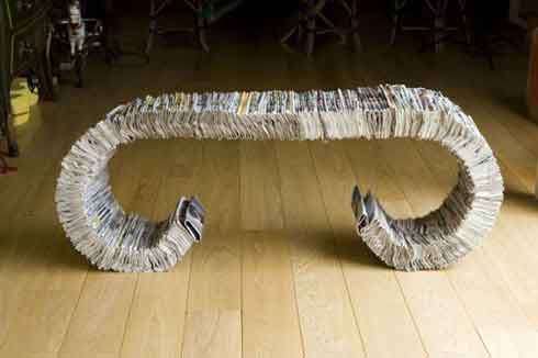 334 Bench an Eco Friendly Project to Make People more Eco-concious