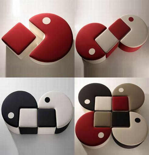pac man furniture Furniture Inspired by Video Game Character   Packman