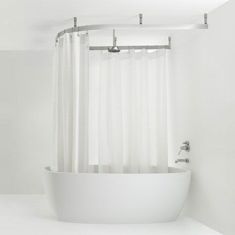 shower curtain rail bathroom shower designs